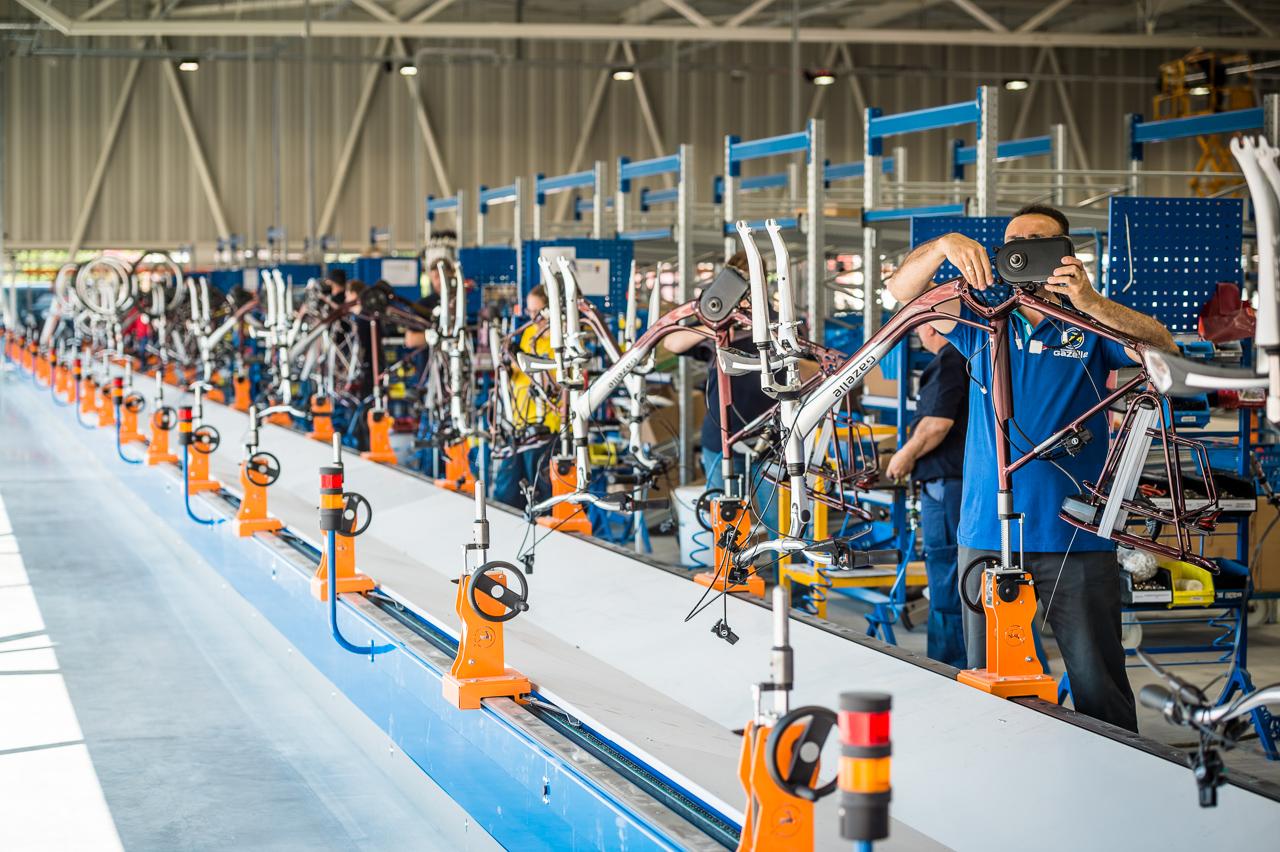 Maatschappelijk Verantwoord Ondernemen Gazelle.nl Fabriek