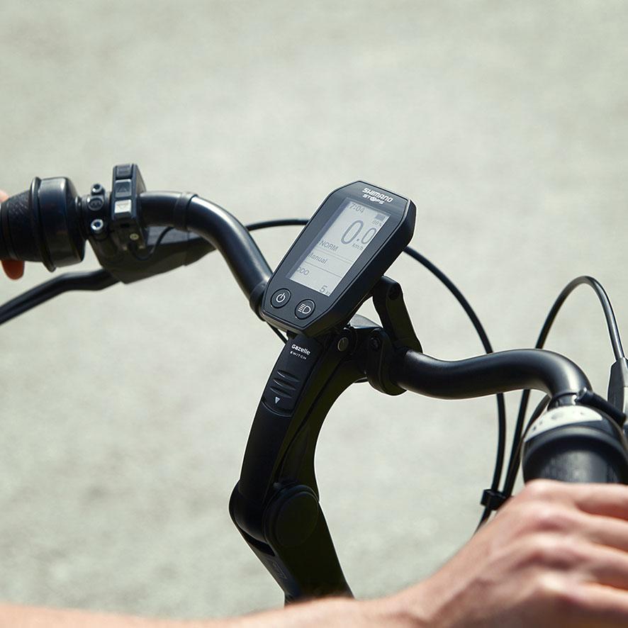 De vele versnellingen laten je soepen en licht schakelen tijdens de toertocht door de natuur of je sportieve rit.