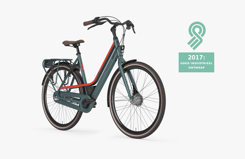 De CityGo is een typische stadsfiets van Gazelle. De fiets wordt geleverd met een ringslot én een kettingslot, dat opgeborgen kan worden in een special compartiment.
