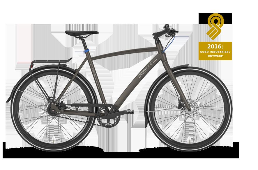 De CityZen C8 is een typische woon-werkfiets die een rit van en naar kantoor nog prettiger maakt en uitnodigt om langere afstanden fietsend te overbruggen.