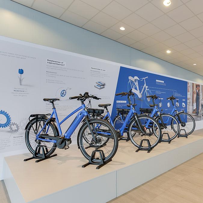 Test je Gazelle-fiets bij een Gazelle-winkel