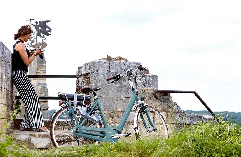 Huur een Gazelle fiets en win