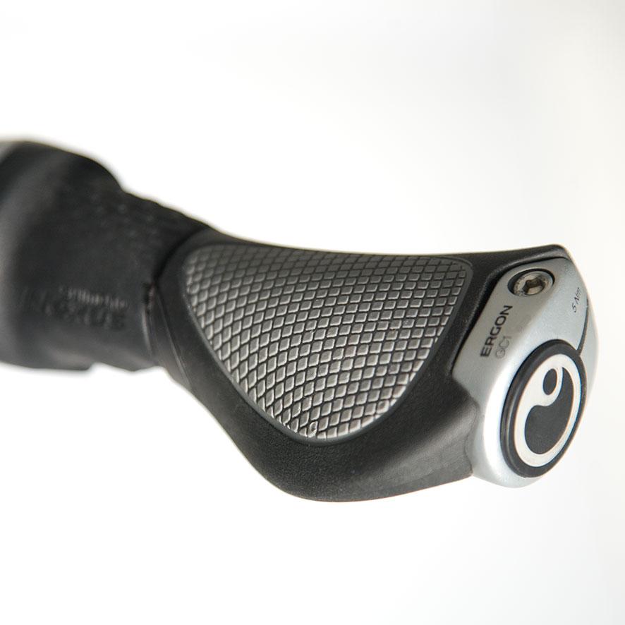 De antislip pedalen zorgen dat je je veilig altijd veilig voelt op de fiets.