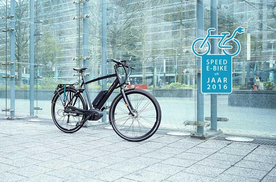 Gazelle CityZen Speed winnaar 'Speed e-bike van het jaar 2016'