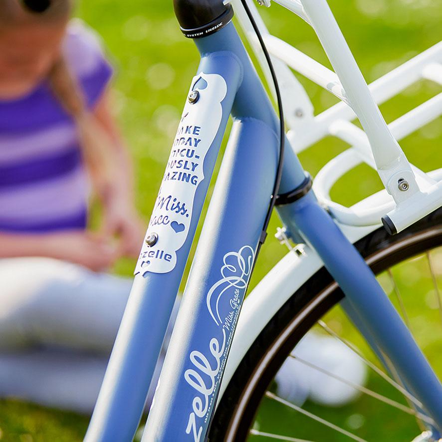 Unsere Fahrräder für Kids sind wartungsarm, haben eine Dreigangschaltung und ein ART-zertifiziertes Schloss.