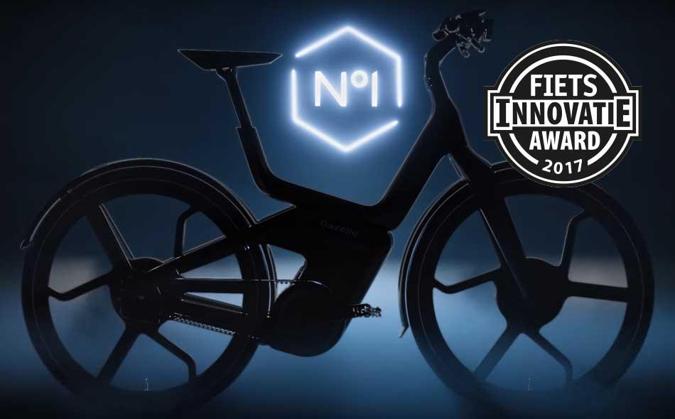 Met deze connected speed pedelec laat Koninklijke Gazelle volgens de jury zien hoe de fiets van de toekomst er uitziet.