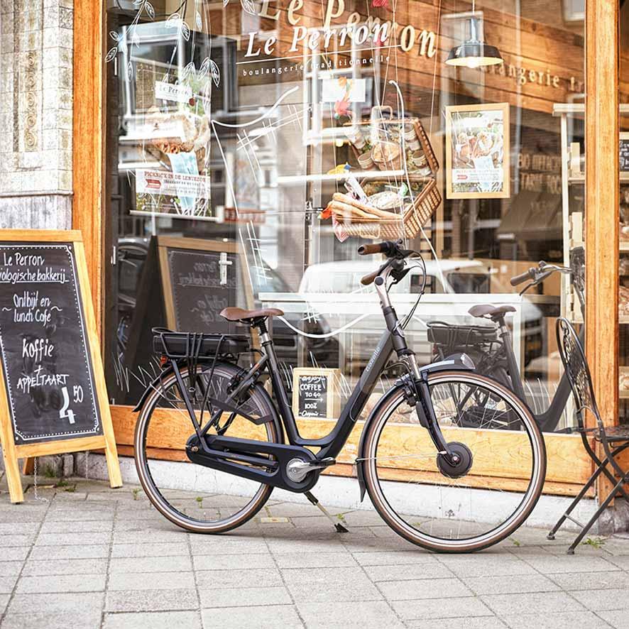 Nieuwe Gazelle fietsen met een complete service en garantie koop je uitsluitend via de erkende vakhandel.