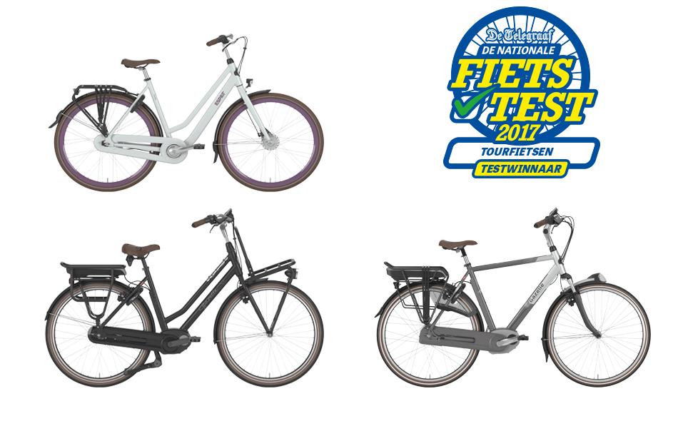 In de categorie Stadsfietsen van € 599 - € 749 is onze Gazelle Esprit C7 tweede geworden. De fiets krijgt vijf sterren en wordt uiteindelijk beoordeeld met een 7,8.