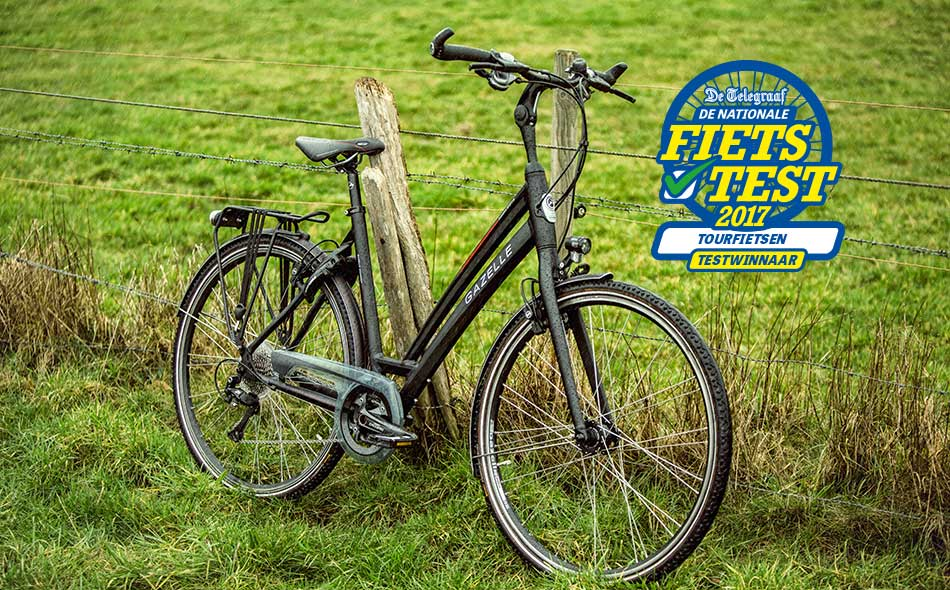De Gazelle Chamonix S30 heeft met grote afstand de eerste plaats behaald in De Telegraaf Nationale Fietstest in decategorie Tourfietsen!