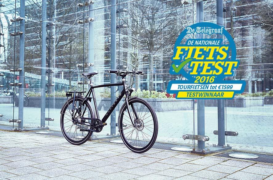 De Ultimate S8 heeft met grote afstand de eerste plaats behaald inDe Telegraaf Nationale Fietstest in decategorie Tourfietsen!