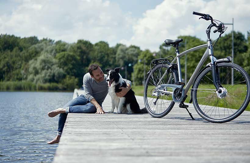 Radeln Sie sportlich und bequem zur Arbeit oder machen Sie eine längere Radtour!