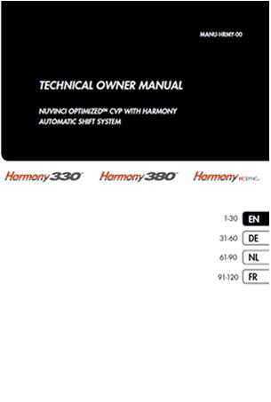 NuVinci Harmony 330 - 380