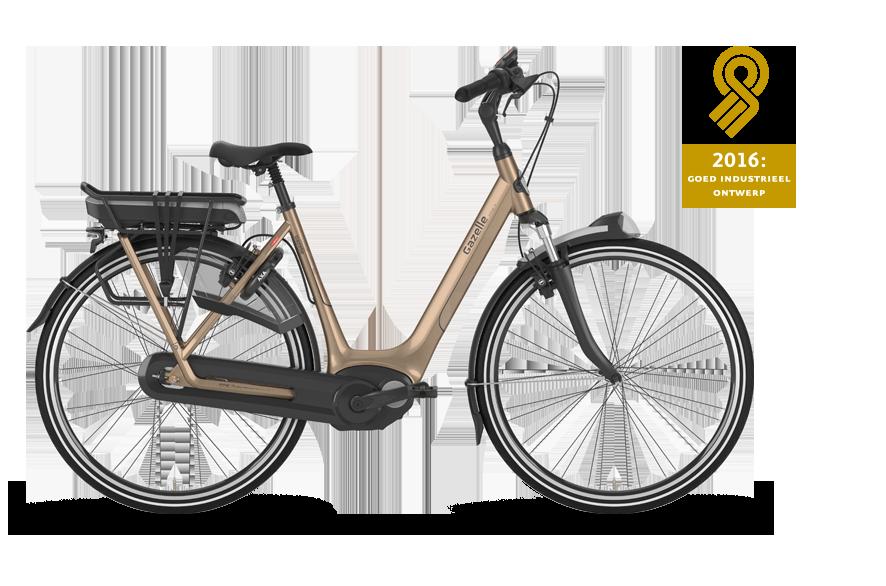 Deze e-bike heeft een vernieuwd frame dat nog stijver is en voor prettige rijeigenschappen zorgt. De middenmotor is laag geplaatst voor een optimaal zwaartepunt.